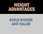 Height Advantages